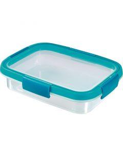 CURVER SMART FRESH - ételtartó (szögletes, 0,7L, kék)