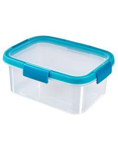 CURVER SMART FRESH - ételtartó (szögletes, 1,2L, kék)