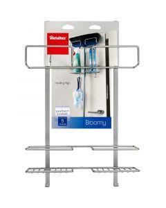METALTEX BROOMY - takarítóeszköz-tároló ajtóra