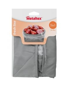 METALTEX FRESH LINE L - összecsukható tárolózsák