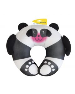 TRAVEL BLUE FUN PILLOW - gyerek utazópárna (panda)