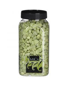 MICA DECORATIONS - dekorkavics (lime, 1kg)
