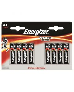 ENERGIZER ALKALINE POWER - alkaline ceruzaelem (AA/E91, 1,5V, 8db)