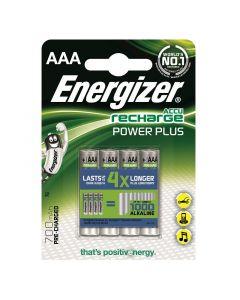 ENERGIZER - tölthető mikroakku (AAA, 700mAh, 4db)
