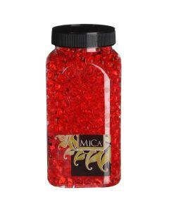 MICA DECORATIONS - dekor zselégyöngy (piros, 650ml)