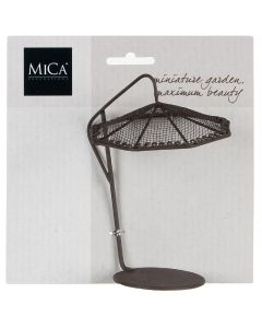 MICA DECORATIONS - mininapernyő (rozsdabarna)
