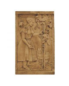 FABROSTONE - gipszkép (55x87cm, szüretelő)