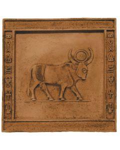 FABROSTONE - gipszkép (20x20cm, bika)