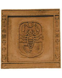 FABROSTONE - gipszkép (20x20cm, skorpió)