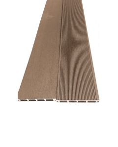 BAMBUS PARKET - WPC teraszdeszka (2000x150x25mm, barna)