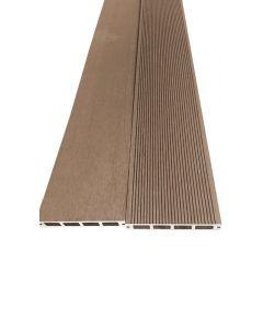 BAMBUS PARKET - WPC teraszdeszka (4000x150x25mm, barna)