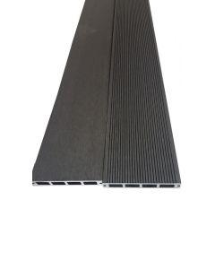 BAMBUS PARKET - WPC teraszdeszka (4000x150x25mm, szürke)
