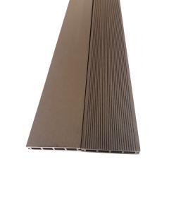 BAMBUS PARKET - WPC teraszdeszka (4000x150x25mm, mokka)