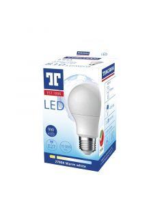 TUNGSRAM ECO - LED-fényforrás (E27, 9W, A60, melegfehér)