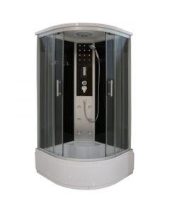 QUICK LINE VITA CL97 - hidromasszázs zuhanykabin (90x90x215cm, íves)