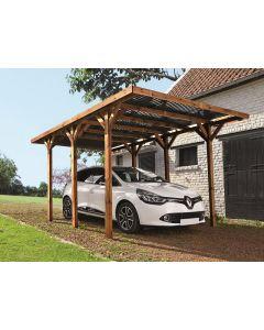 FOREST STYLE ENZO - kocsibeálló PC-tetővel (304x517x234cm)