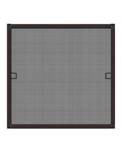 SCHELLENBERG - szúnyogháló (alumíniumkerettel, 120x140cm, barna)