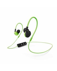 HAMA CLIP-ON SPORT - sztereó Bluetooth headset (zöld)