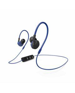 HAMA CLIP-ON SPORT - sztereó Bluetooth headset (kék)