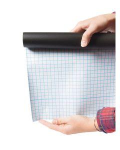 SECURIT - írható fólia krétával (öntapadós, 45x200cm, fekete)