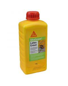 SIKA CERAM LATEXGROUT - szintetikus gumi fugaadalék (1kg)