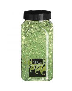 MICA DECORATIONS - dekor zselégyöngy (zöld, 650ml)