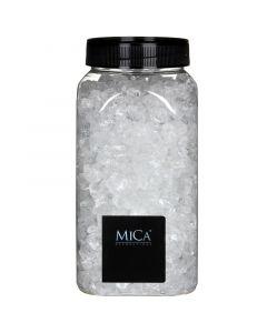 MICA DECORATIONS - dekorkavics (áttetsző, 4-10mm, 1kg)