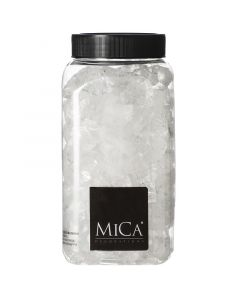MICA DECORATIONS - dekorkavics (áttetsző, 25-30mm, 1kg)