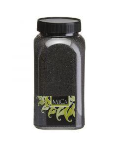 MICA DECORATIONS - dekorhomok (fekete, 1kg)