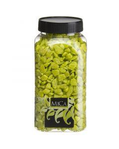 MICA DECORATIONS - dekorkavics (világoszöld, 1kg)
