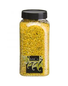 MICA DECORATIONS - dekorkavics (aprószemű, citromsárga, 1kg)