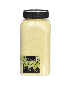 MICA DECORATIONS - dekorhomok (sárga, 1kg)