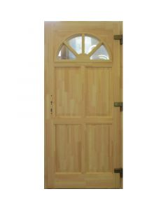 NAPSUGÁR P78 - fa bejárati ajtó (100x210, tele-jobb)