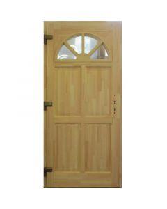 NAPSUGÁR P78 - fa bejárati ajtó (100x210, tele-bal)
