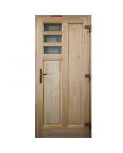 BOGI P78 - fa bejárati ajtó (100x210, jobb)