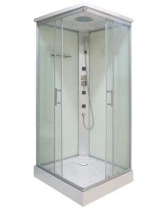 SANOTECHNIK TC06 - hidromasszázs zuhanykabin (90x90x210cm, szögletes)