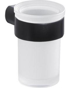 GEDY PIRENEI - fogkefetartó pohár (fekete)
