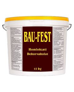 BAU-FEST- homlokzati dekorvakolat (24) - 15kg