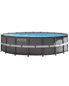 INTEX ULTRA RONDO XTR - fémvázas medence (Ø549x132cm, vízforgatóval)