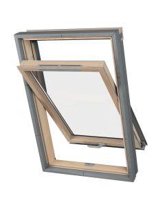 SOLID VALUE - tetőtéri ablak (fa, 66x118cm)