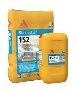 SIKALASTIC 152 A+B - rugalmas vízszigetelő habarcs (20+6,4kg)