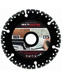 MULTIMASTER - univerzális vágókorong (125mm)