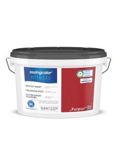 SWINGCOLOR EFFECTS - glittereffekt-falfesték - purpur 2,5L