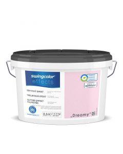 SWINGCOLOR EFFECTS - glittereffekt-falfesték - dreamy 2,5L