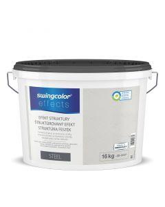 SWINGCOLOR EFFECTS - struktúrafesték - steel 16L