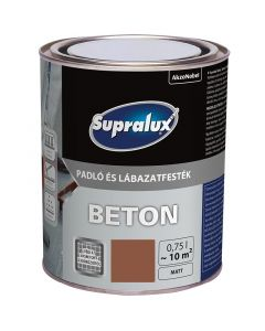 SUPRALUX BETON - padló- és lábazatfesték - terrakotta 0,75L