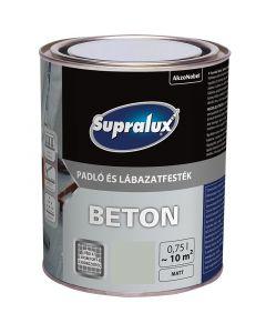 SUPRALUX BETON - padló- és lábazatfesték - kavics 0,75L