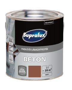 SUPRALUX BETON - padló- és lábazatfesték - terrakotta 3L