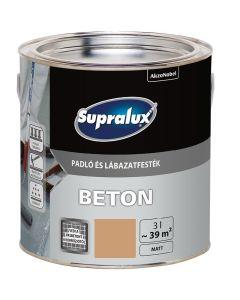 SUPRALUX BETON - padló- és lábazatfesték - homok 3L