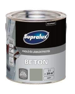 SUPRALUX BETON - padló- és lábazatfesték - szikla 3L